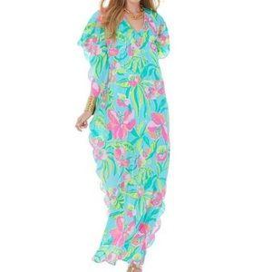 NWOT Lilly Pulitzer Belina Maxi Caftan Dress